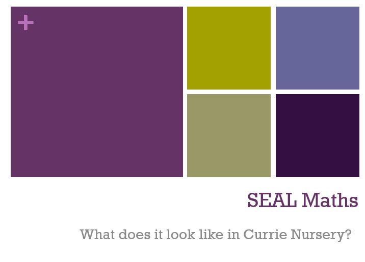 SEAL Maths